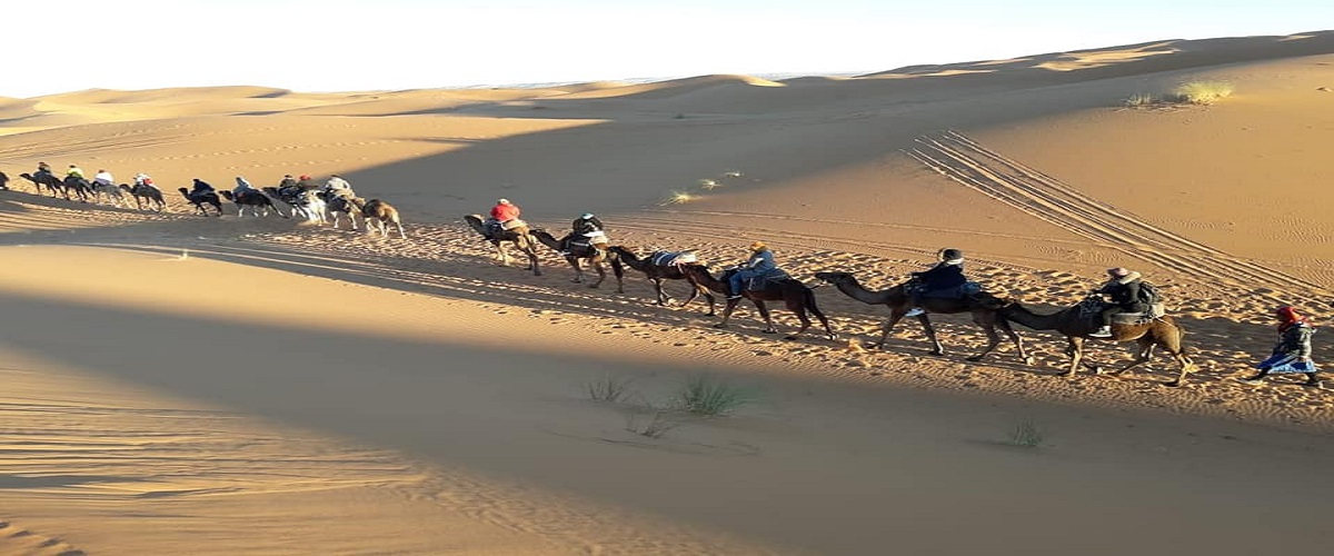 Sahara Desert Trip Marrakech 4 Days
